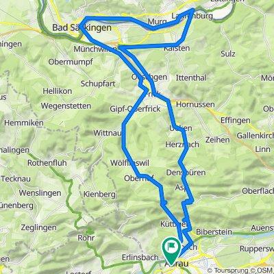 A-Aarau-Frick-Laufenburg-Säckingen