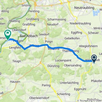 von Hagelstadt nach Kapfelberg