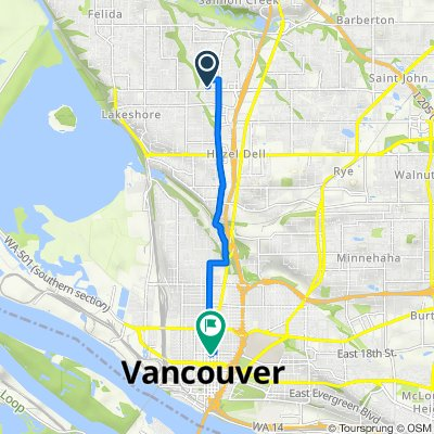 10002 NW 3rd Ct, Vancouver to 1706 Main St, Vancouver