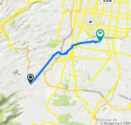De Calle La Venta 28, Ciudad de México a Gómez Farias 49B, Ciudad de México