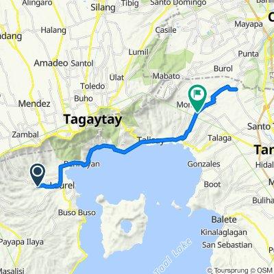 Unnamed Road, Laurel to Banaba Road, Tanauan
