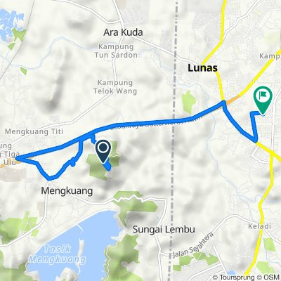 Route to 74, Jalan Halia 5, Bandar Lunas