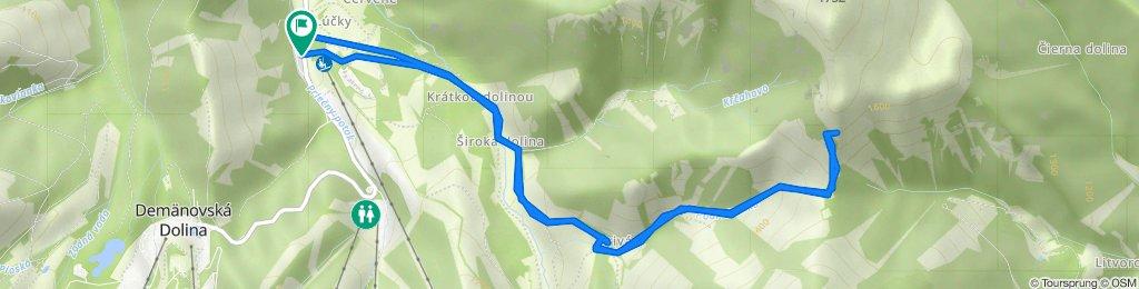 2020-12-29 Lúčky - Sedlo Javorie - Krakova Hoľa (neúspešne)