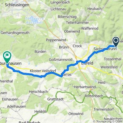 K528 56, Eisfeld nach Untere Braugasse 12, Hildburghausen