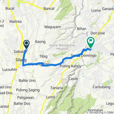 Nyugan Road, Silang to Nuvali Boulevard 3, Santa Rosa