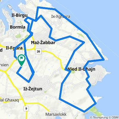 Bulebel to Xrobb via Xghajra & Strejnu