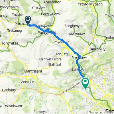 1 Coedcae Road, Pontypridd to 24 Junction Ter, Cardiff