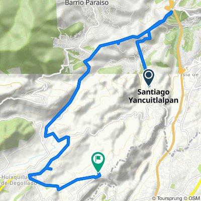 Ruta desde Carretera Huixquilucan-Santiago Yanhuitlalpán 34–38, Huixquilucan