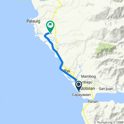Philippines, Botolan to Unnamed Road, Palauig