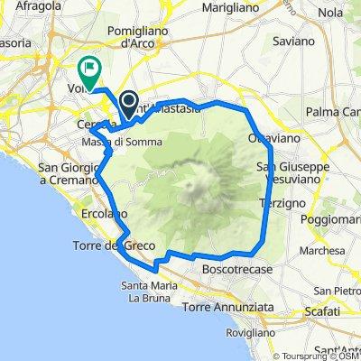 Da Viale Regina Elena 44, Pollena-Trocchia a Via San Giorgio 76/B, Volla