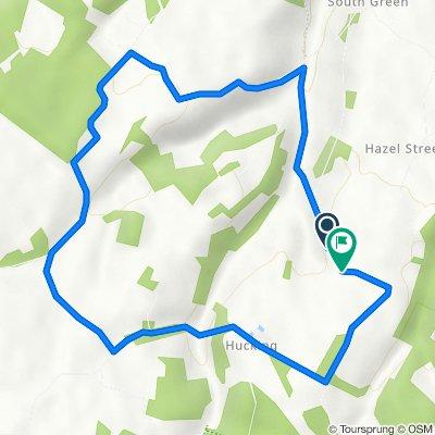 Southlees Lane, Stockbury, Sittingbourne to Southlees Lane, Stockbury, Sittingbourne