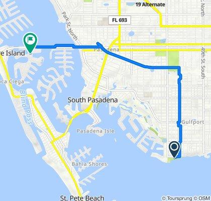 5600 Shore Blvd S, Gulfport to Paradise Blvd, Treasure Island