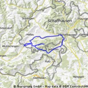 Erzingen-Jestetten-Rheinfall-Erzingen