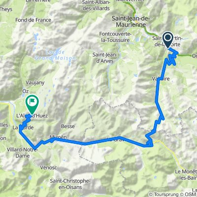 Tacx Les Alpes volle Runde