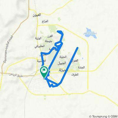 Al Amir Nayif 5252, Al Hufuf and Al Mubarraz to Al Hufuf and Al Mubarraz