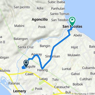 Easy ride in San Nicolas