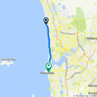 Southside Drive 86, Hillarys to State Route 12 5, Fremantle