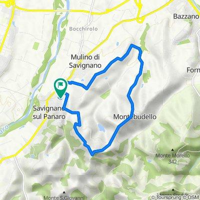 Da Via Campania 92, Savignano Sul Panaro a Via Campania 74/C1, Savignano Sul Panaro