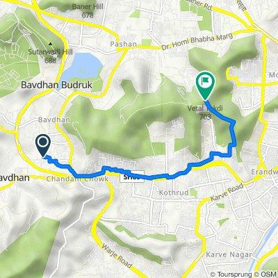 Bavdhan, Pune to Gokhale Nagar Road, Pune