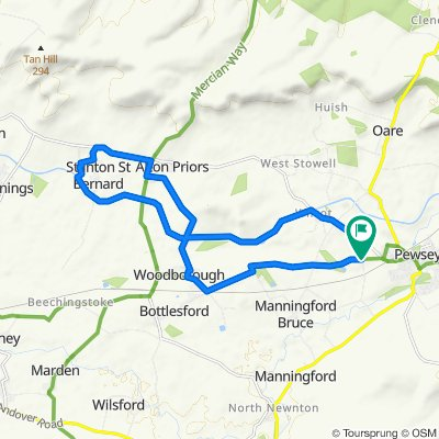 Church Farm Lane-Devizes Road-Woodborough Road