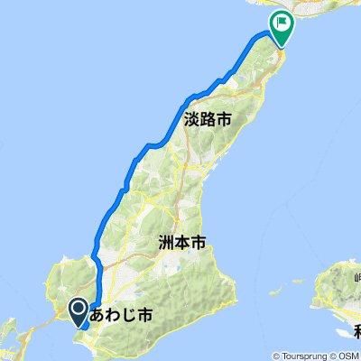 2660, Amashioyamachi, Minamiawaji to 925-27, Iwaya, Awaji