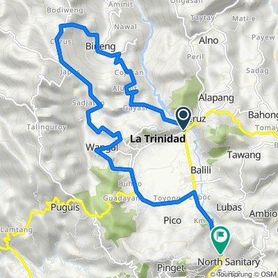 Stairway to the Capitol, La Trinidad to Baguio - La Trinidad - Bontoc Road