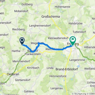 Zur Schäferei 4, Frankenstein nach Dörnerzaunstraße 2, Freiberg