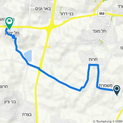 De Unnamed Road a Tel Yitshak/Massuah Museum, Tel Yitzhak
