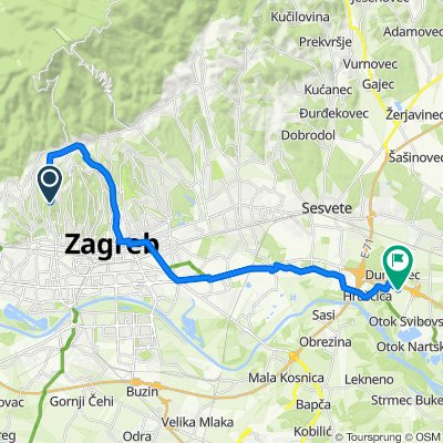 Cycling Routes And Bike Maps In And Around Zagreb Bikemap Your Bike Routes