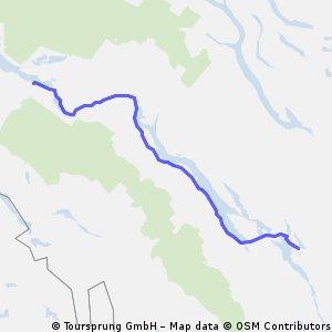 Saxnäs - Vilhelmina (Vildmarksvägen)