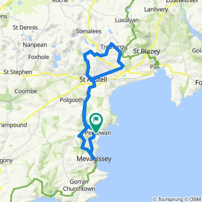 Mevagissey/ St Austell Loop 2!