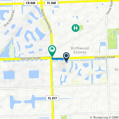 2226–2298 NW 78th Ave, Pembroke Pines to 2501 N University Dr, Hollywood