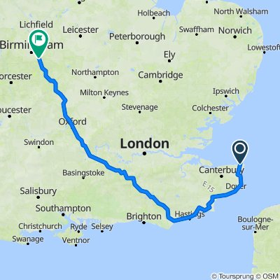 margate to solihull