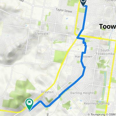 22 Victory Street, Newtown to 182-200 Cambooya Street, Drayton
