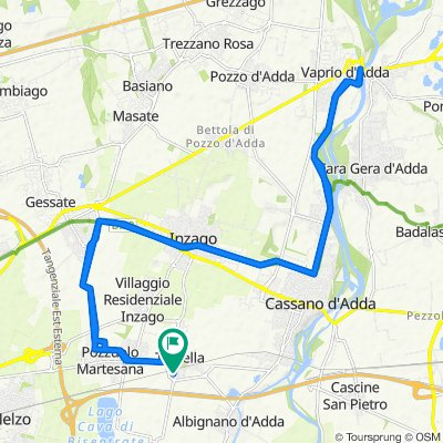 Da Via Sant'Anna 14–20, Trecella a Via Sant'Anna 18, Trecella
