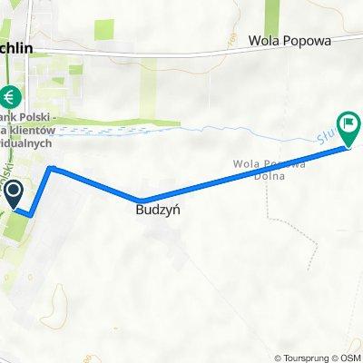 ŻYCHLIN W BIEGU 5 KM