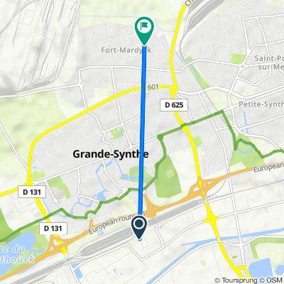 De 9 Cité des Deux Synthes, Grande-Synthe à 5 Rue de la Paix (fort-mardyck), Fort-Mardyck