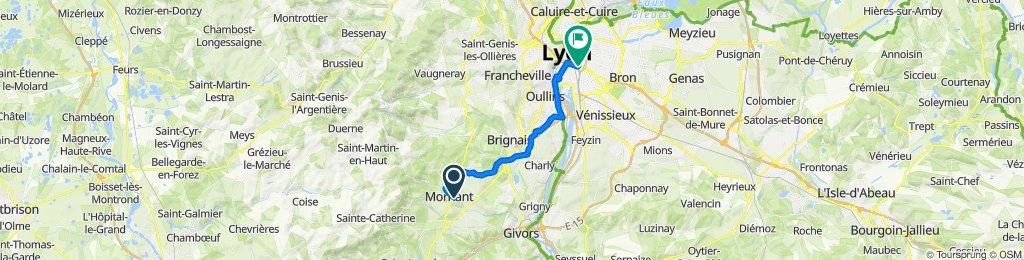 De 9 Rue Louis Guillaumond, Mornant à 374 Rue Garibaldi, Lyon