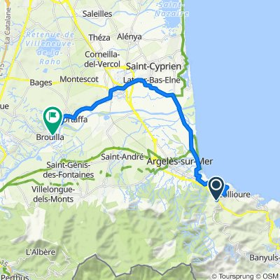 Ruta de los Pirineos, entre 01 y 02