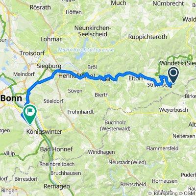 Alser Weg 11, Windeck nach Plittersdorfer Straße 34, Bonn