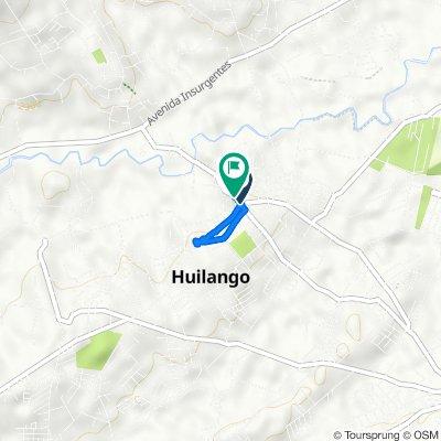 Avenida Morelos, Huilango to Calle Ignacio Zaragoza 217, Huilango