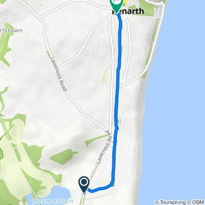 6 Falcon Grove, Penarth to 5 Station Approach, Penarth