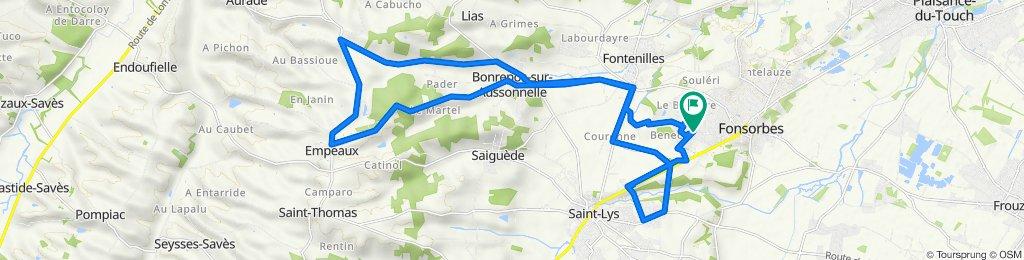 Fonsorbes-Bonrepos-Empeau-SaintLys-Fonsorbes