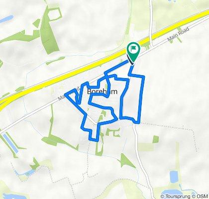 Around Boreham in 5km