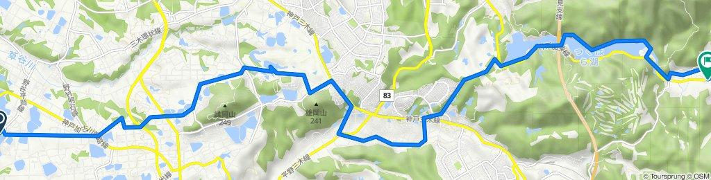 稲美町 to 東所5, 神戸市