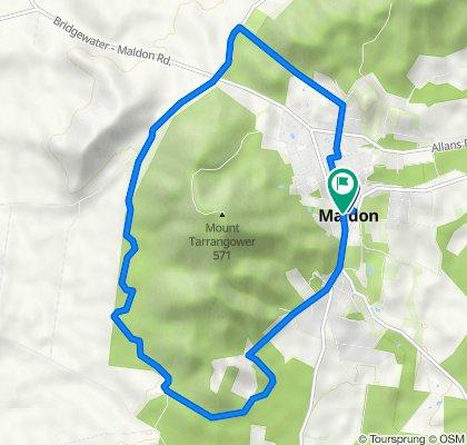 Maldon-Mt Tarrangower circuit