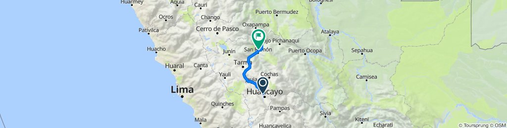 Huancayo - Villarrica ( en bici)