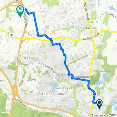 37 Parkwood Drive, Heathwood to 46–50 Fulcrum Street, Richlands