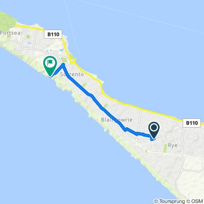 174–178 Melbourne Road, Rye to 250 Ocean Beach Road, Sorrento