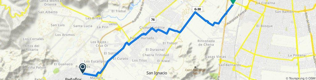 De Rosales 2092, Peñaflor a Santa Margarita 266, San Bernardo